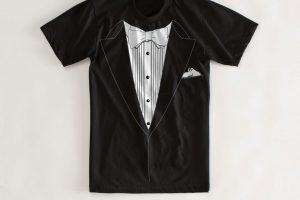 Tuxedo style Tee