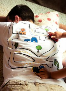 Cartoon map Tee