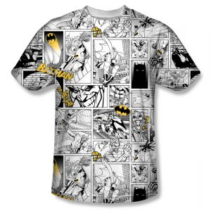 comic strip tee