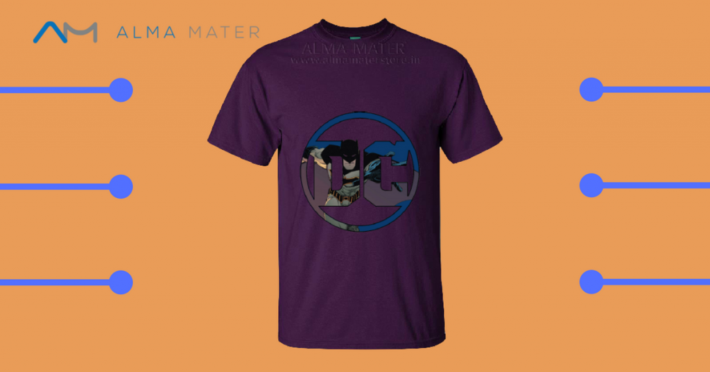 dc comics custom t shirts