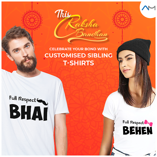 5 Raksha Bandhan Customized T Shirt Ideas For You Sister Rakhi Gifts