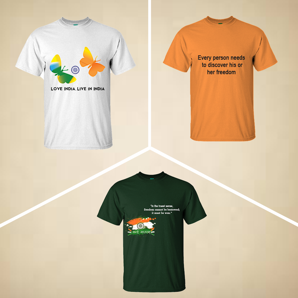T-Shirts for Independence Day