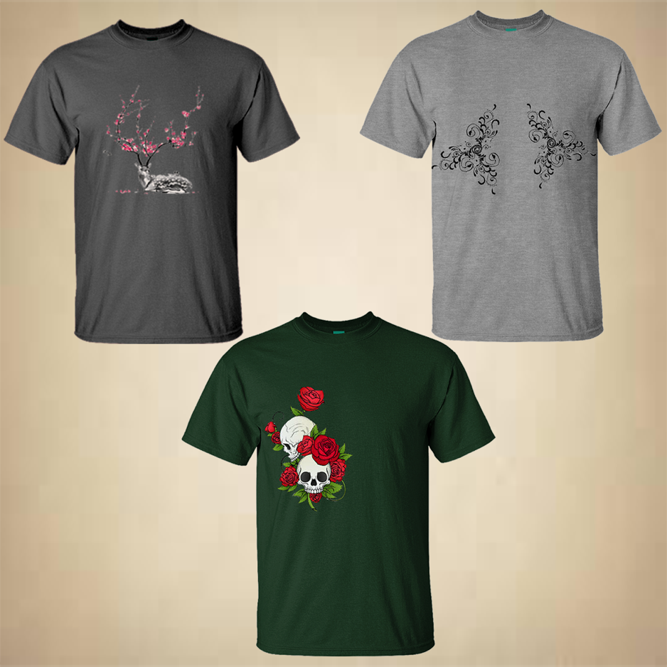 floral t shirts