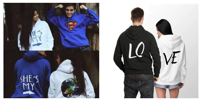 custom hoodies for couple