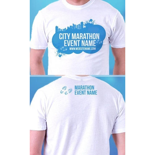 customized t shirts for a marathon