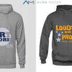 personalised printed hoodies