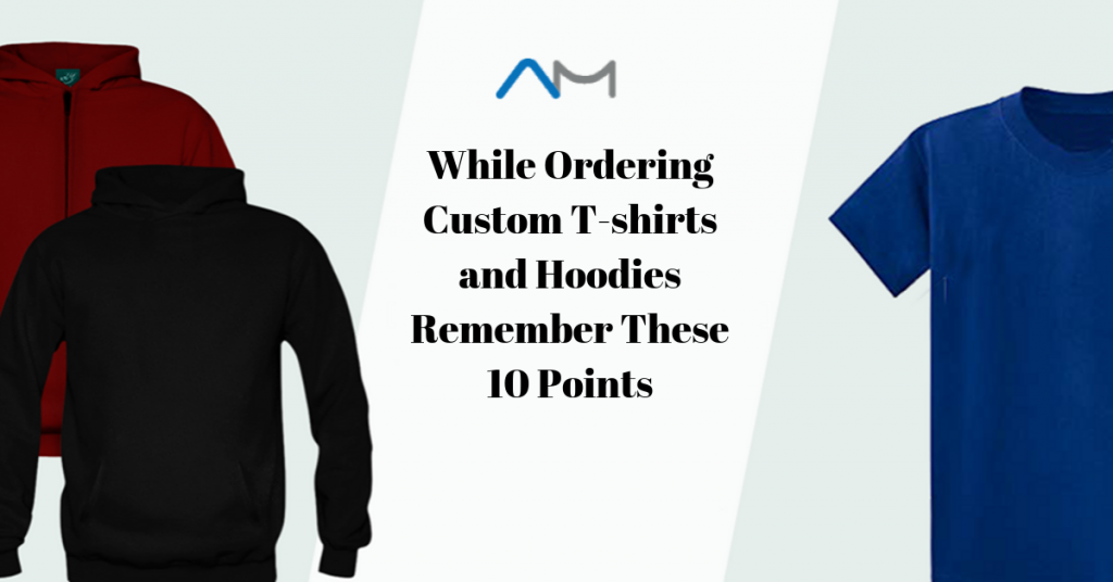 custom T shirts and hoodies