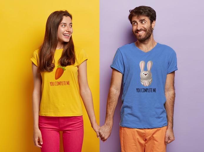 Matching Couple T-Shirts